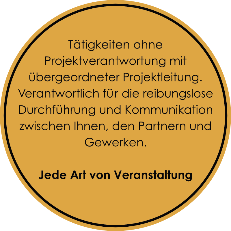 Gastro-Project Regensburg - Veranstaltungsleitung