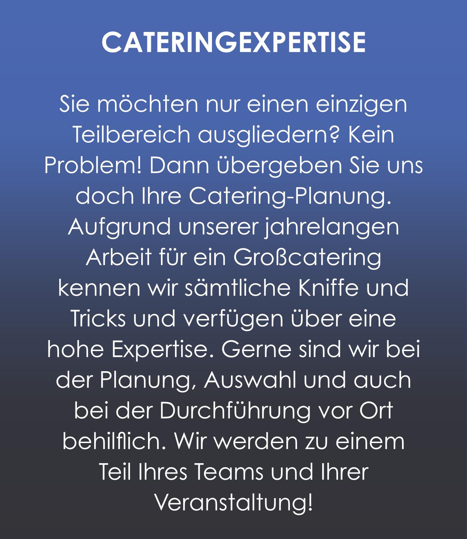 Gastro-Project Regensburg - Cateringexpertise
