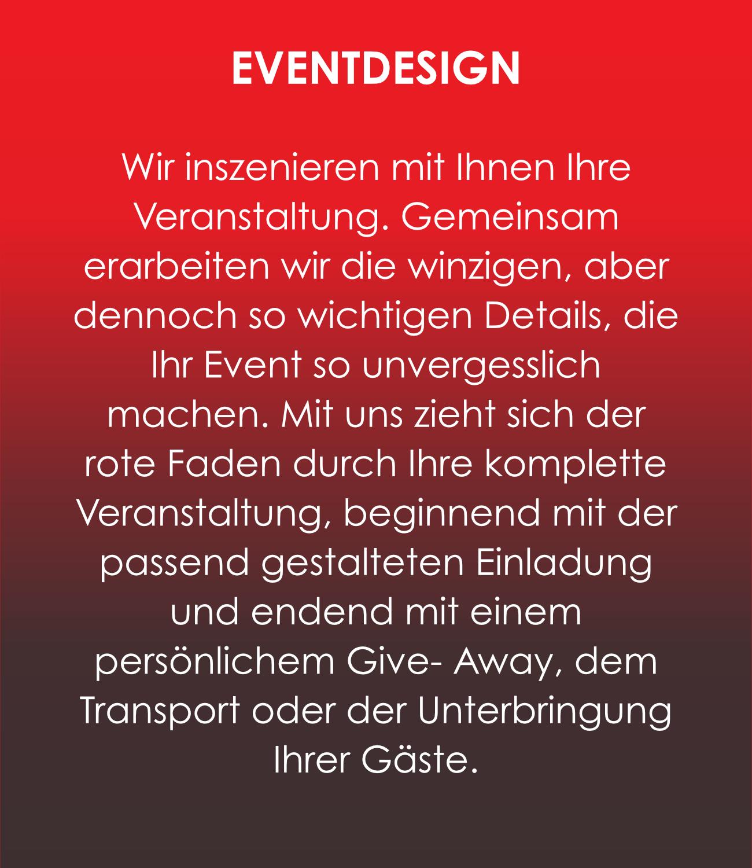 Gastro-Project Regensburg - Eventdesign